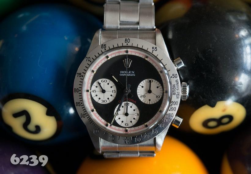 Rolex Daytona Paul Newman reference 6239