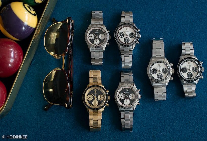 Rolex Daytona Paul Newman all dials