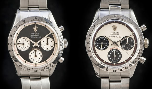 Rolex Daytona Paul Newman reference 6239 Tiffany Dial