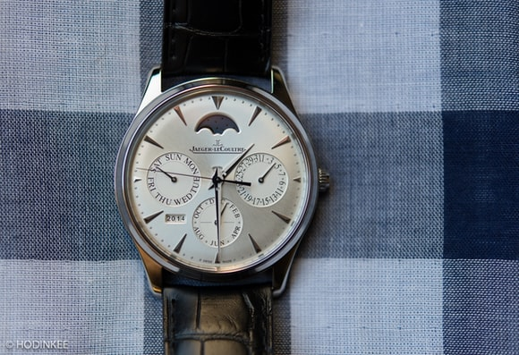 Jaeger-LeCoultre Master Ultra Thin Perpetual Calendar in stainless steel