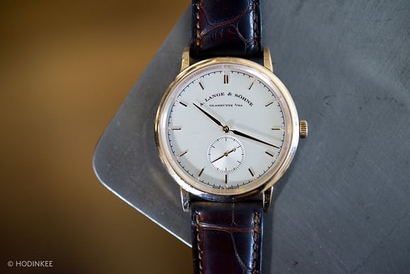 A. Lange & Söhne Saxonia in pink gold