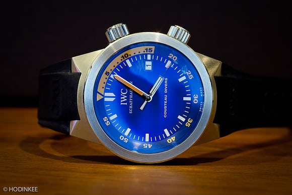 John Mayer IWC Aquatimer Jacques Cousteau
