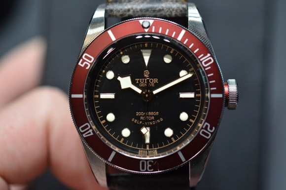 In depth the tudor heritage black bay reference 7922r - Tudor dive watch price ...