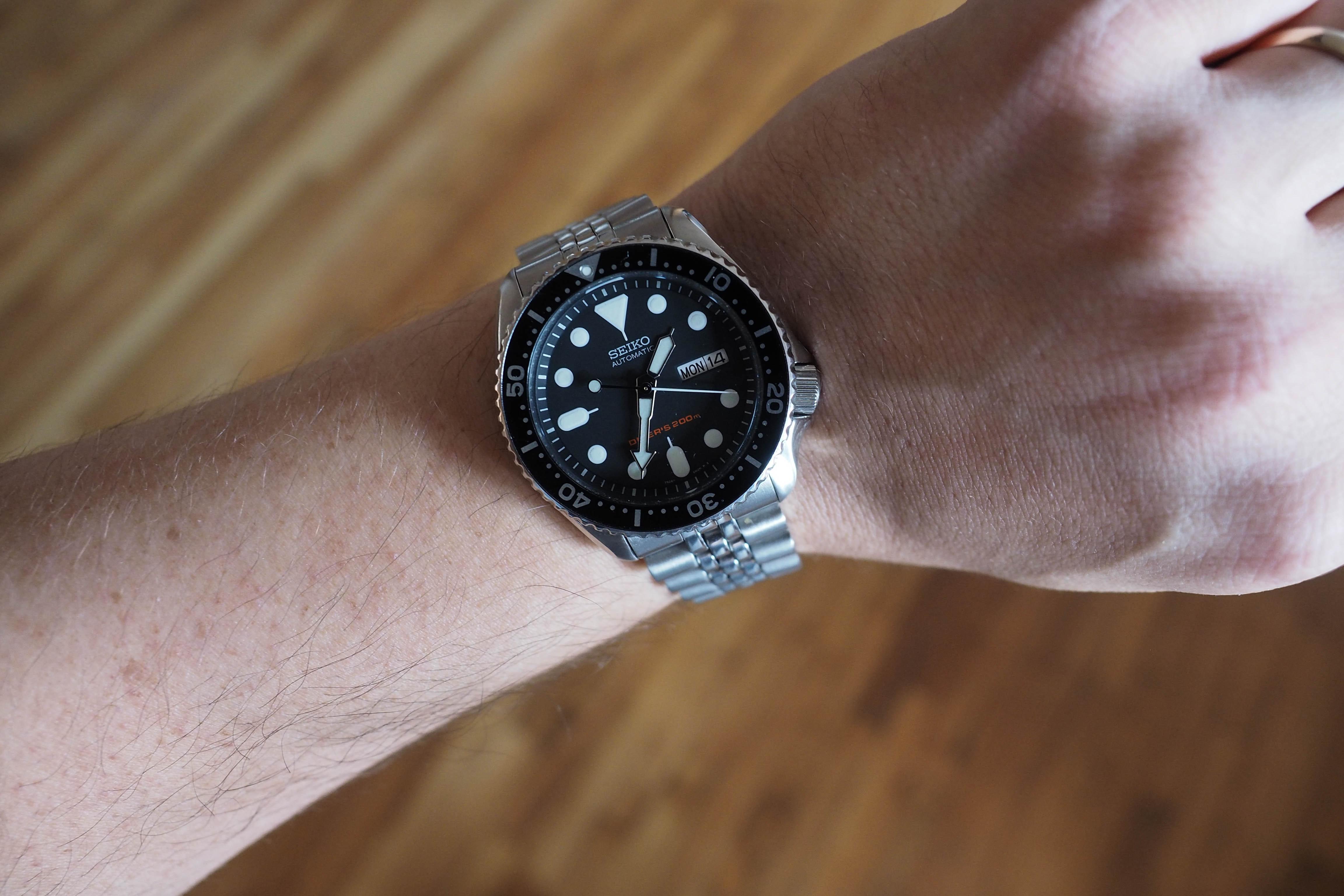 Seiko SKX007 Wrist shot