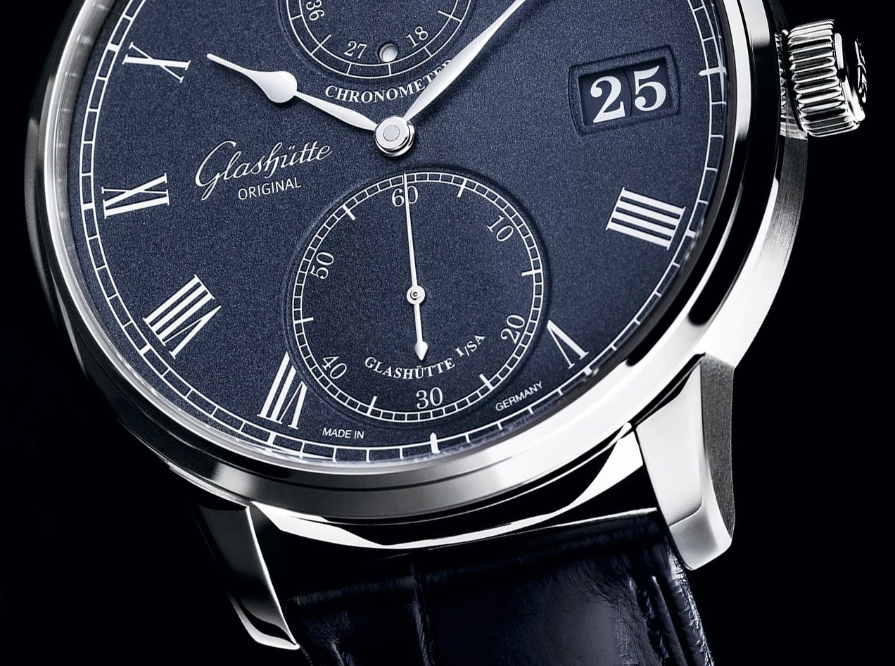 Glashutte Original Senator Chronometer Introducing: The New Glashutte Original Senator Chronometer, With A Dark Blue Dial Introducing: The New Glashutte Original Senator Chronometer, With A Dark Blue Dial 2