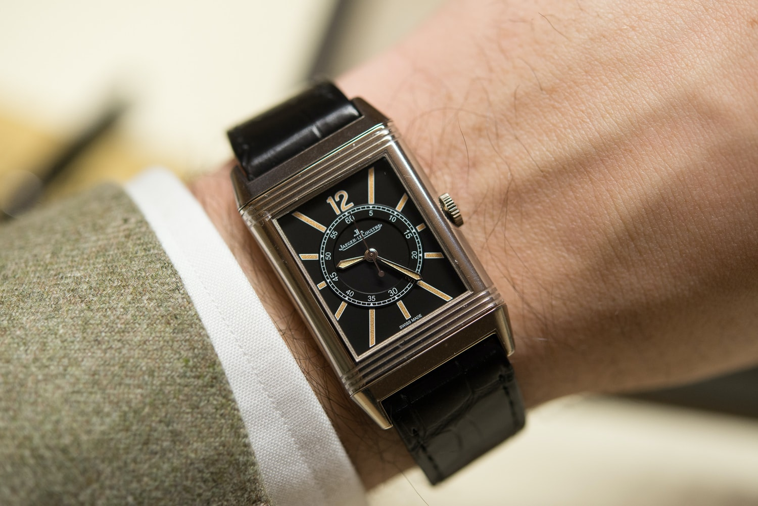 Jaeger LeCoultre Grande Reverso 1931 Editors' Picks: The HODINKEE Valentine's Day 2016 Watch Gift Guide, Because Watches Won't Give You Cavities Editors\' Picks: The HODINKEE Valentine\'s Day 2016 Watch Gift Guide, Because Watches Won\'t Give You Cavities 22