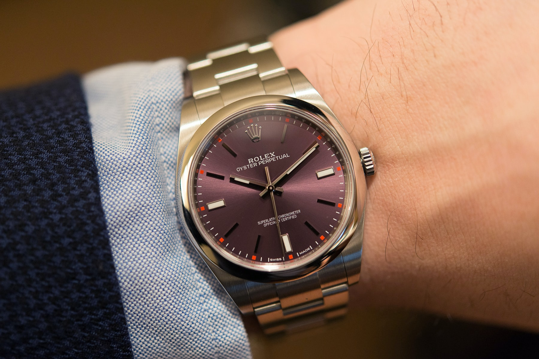 Rolex Oyster Perpetual Editors' Picks: The HODINKEE Valentine's Day 2016 Watch Gift Guide, Because Watches Won't Give You Cavities Editors\' Picks: The HODINKEE Valentine\'s Day 2016 Watch Gift Guide, Because Watches Won\'t Give You Cavities eeee