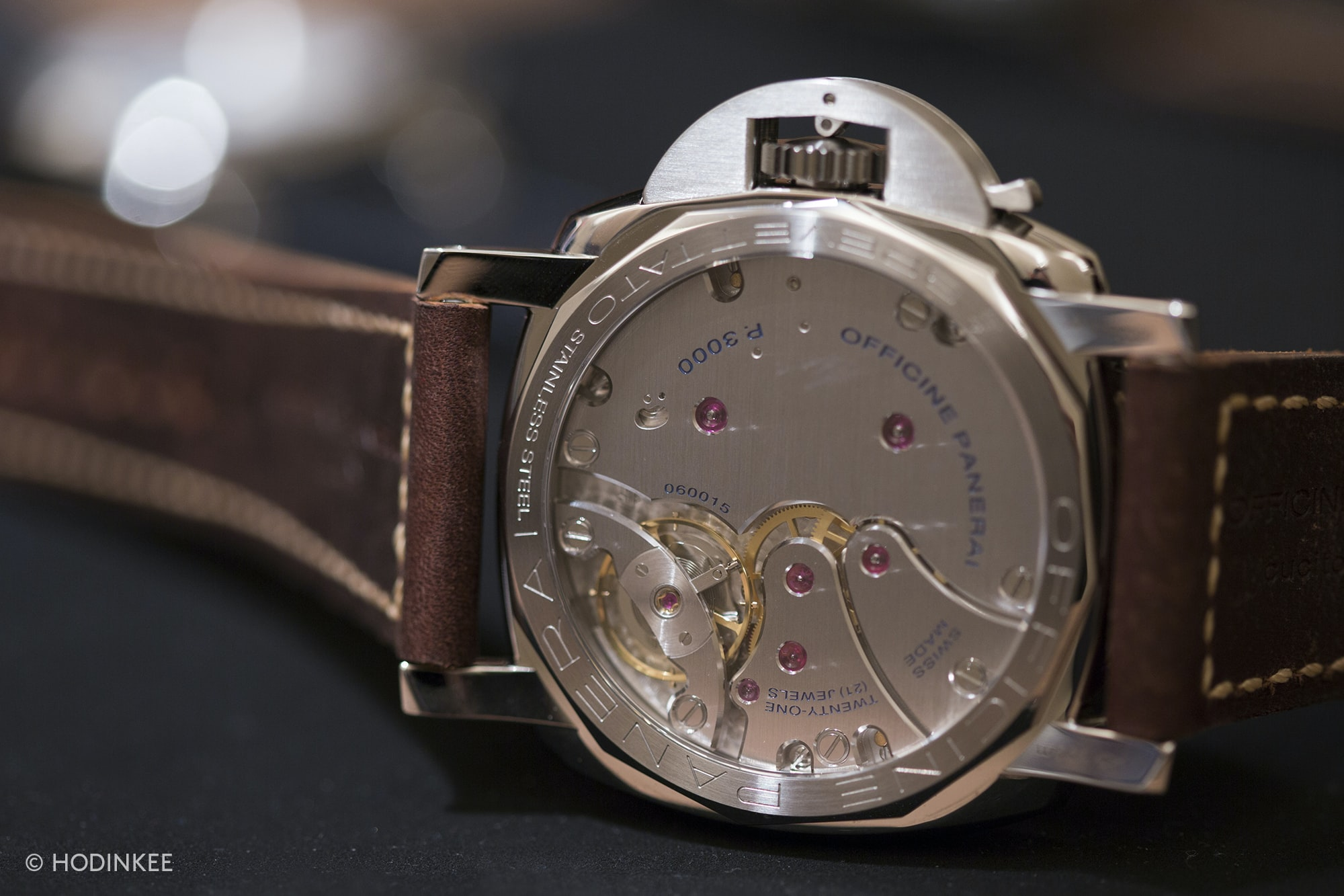 Hands-On: The Panerai Radiomir 1940 3 Days PAM 662 And Luminor 1950 PAM 663 Hands-On: The Panerai Radiomir 1940 3 Days PAM 662 And Luminor 1950 PAM 663 Panerai Luminor 1950 PAM 663 back
