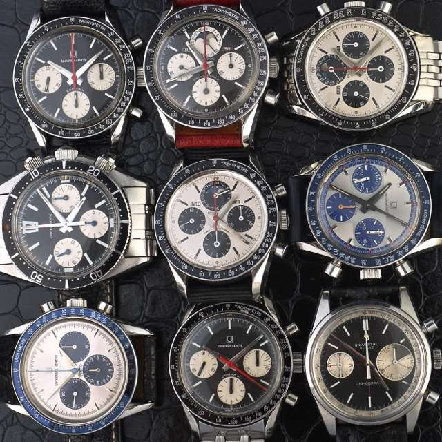Universal Geneve chronographs Found: The Most Amazing Vintage Watch Website Nobody's Heard Of (But Not For Long) Found: The Most Amazing Vintage Watch Website Nobody\'s Heard Of (But Not For Long) UG Group