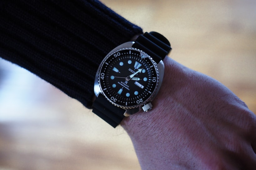 Seiko SRP777 wrist shot, dial Hands-On: The New Seiko Prospex 200m Divers, SRP775 And SRP777, Two Dive Watches Made Like Quartz Never Happened Hands-On: The New Seiko Prospex 200m Divers, SRP775 And SRP777, Two Dive Watches Made Like Quartz Never Happened 22