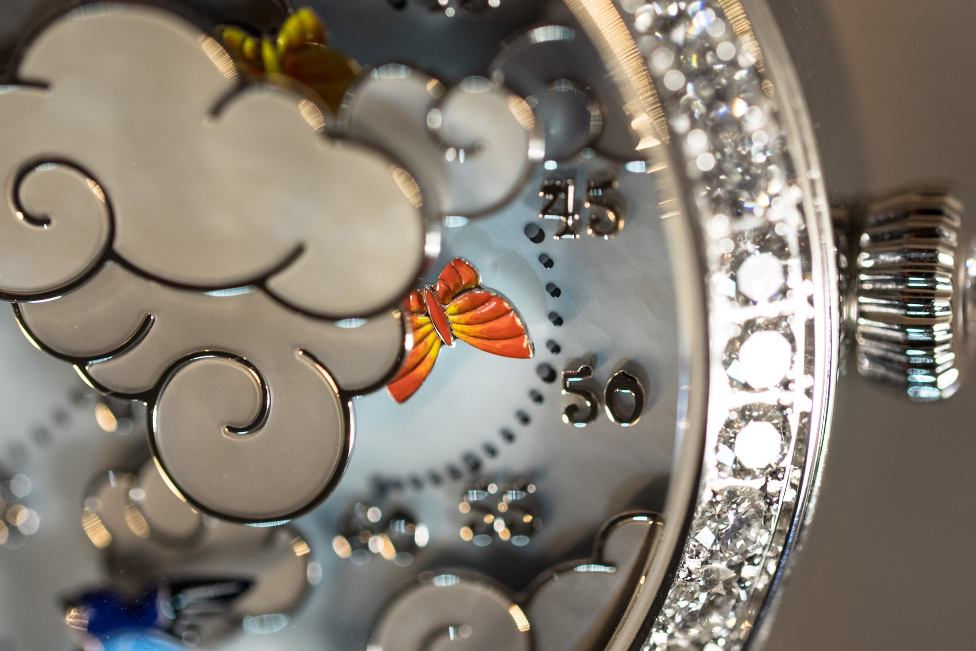 Van Cleef & Arpels Lady Arpels Ronde des Papillons  Hands-On: The Van Cleef & Arpels Ronde Des Papillons, With On-Demand Dial Animation Hands-On: The Van Cleef & Arpels Ronde Des Papillons, With On-Demand Dial Animation 4444