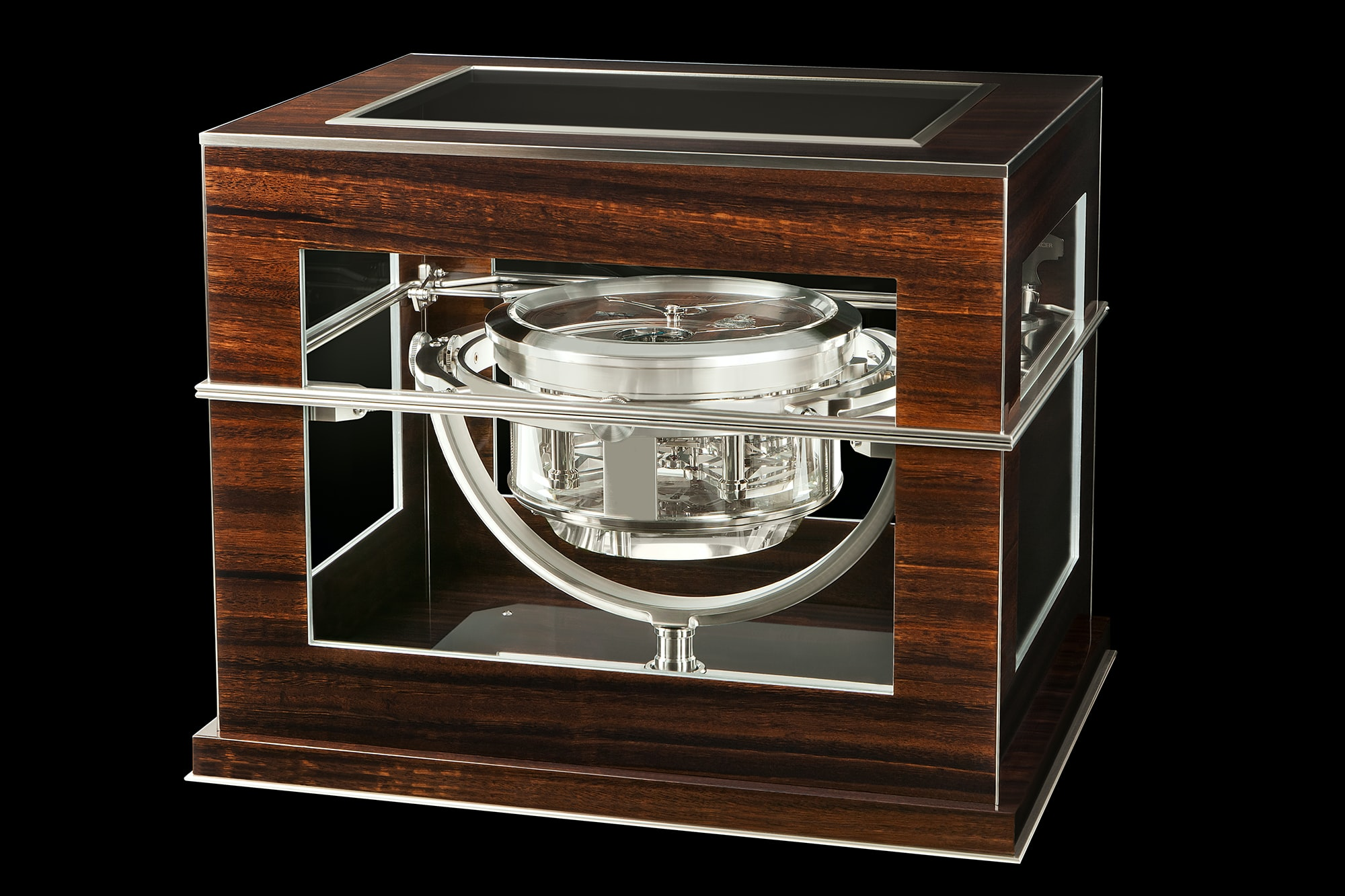 Thomas Mercer Marine Chronometer Introducing: A Thomas Mercer One-Off Marine Chronometer Made To Accompany A Re-Creation Of Shackleton's Epic Voyage Introducing: A Thomas Mercer One-Off Marine Chronometer Made To Accompany A Re-Creation Of Shackleton's Epic Voyage 2