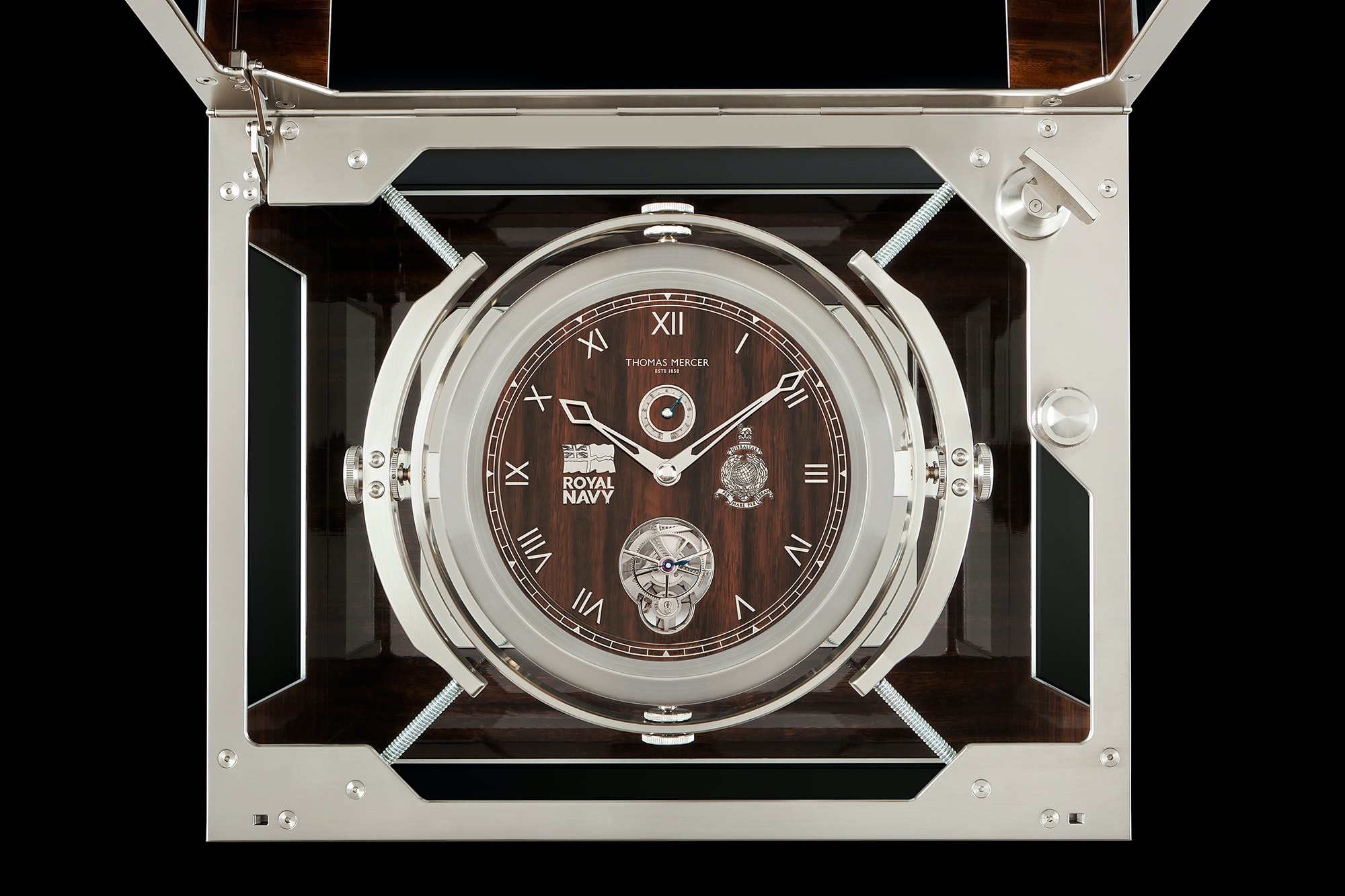 Thomas Mercer Marine Chronometer Introducing: A Thomas Mercer One-Off Marine Chronometer Made To Accompany A Re-Creation Of Shackleton's Epic Voyage Introducing: A Thomas Mercer One-Off Marine Chronometer Made To Accompany A Re-Creation Of Shackleton's Epic Voyage 3