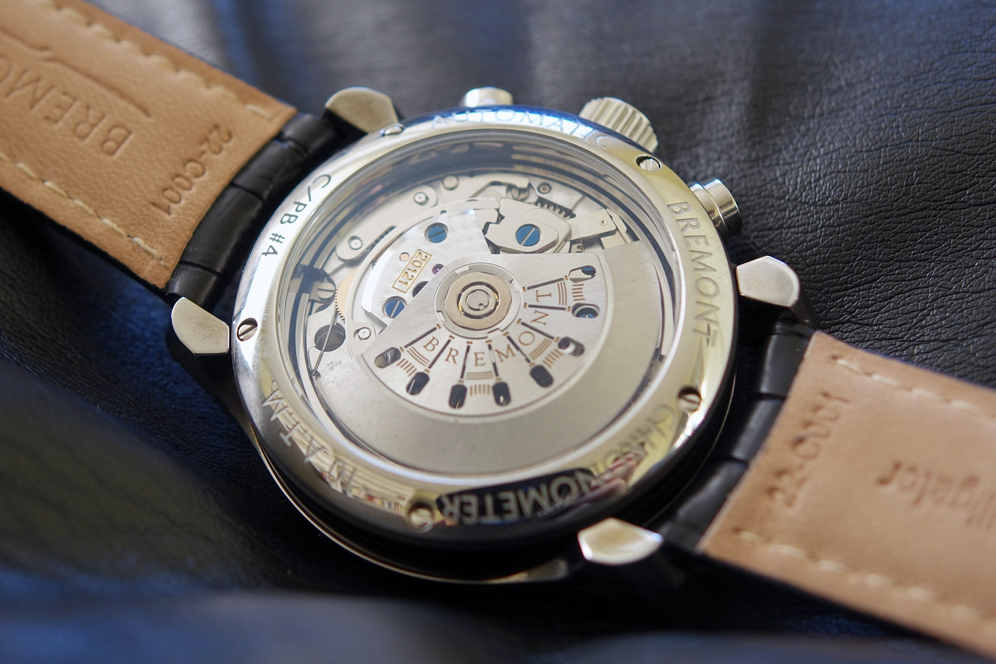 Bremont ALT1-C/PB caseback Hands-On: The Bremont ALT1-C/PB, A Dress Chronograph With A Difference Hands-On: The Bremont ALT1-C/PB, A Dress Chronograph With A Difference DSC07633