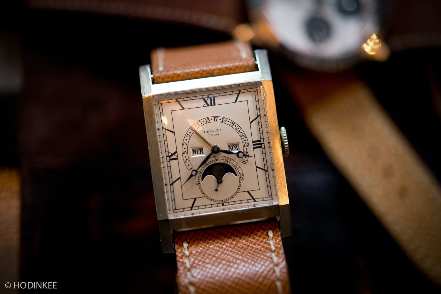 Historical Perspectives: (Possibly) The World's First Perpetual Calendar Wristwatch, From Breguet, Revisited On Leap Day 2016 Historical Perspectives: (Possibly) The World's First Perpetual Calendar Wristwatch, From Breguet, Revisited On Leap Day 2016 TalkingWatchesJohnGoldberger 24