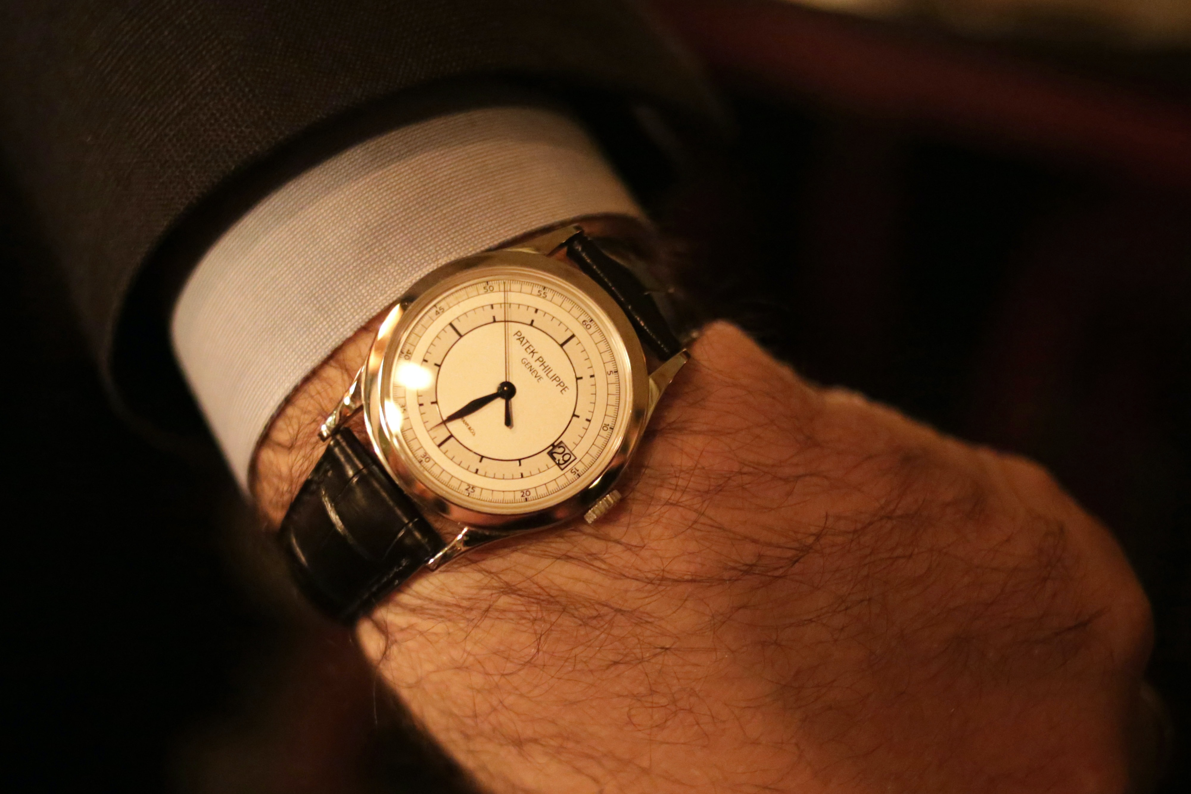 Watch Spotting: The HODINKEE #LeapDay Celebration In NYC Watch Spotting: The HODINKEE #LeapDay Celebration In NYC 588A9729