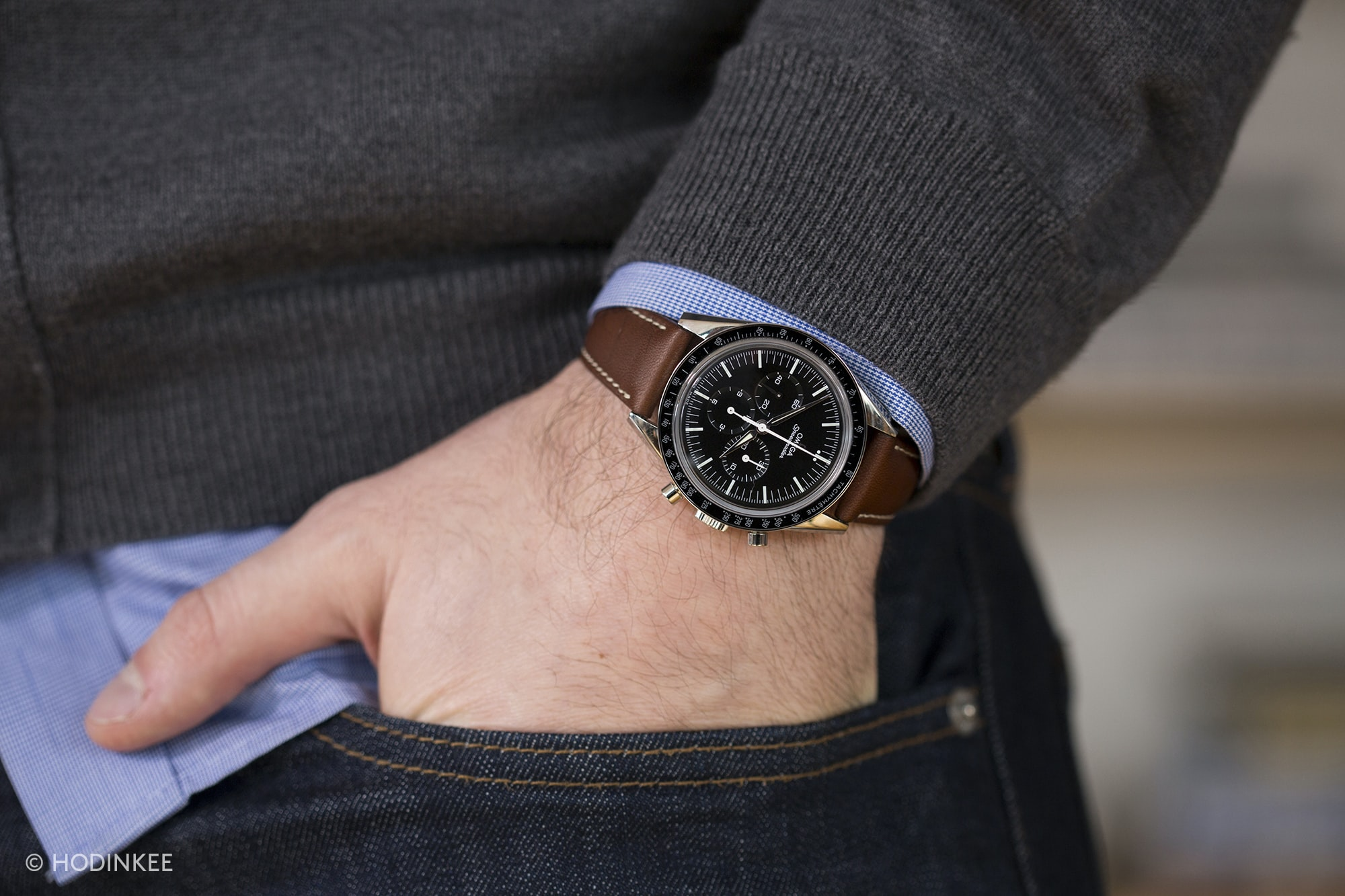 Omega Speedmaster First Omega In Space On Wrist A Week On The Wrist: The Omega Speedmaster 'First Omega In Space' A Week On The Wrist: The Omega Speedmaster 'First Omega In Space' AAA Omega FOIS 1