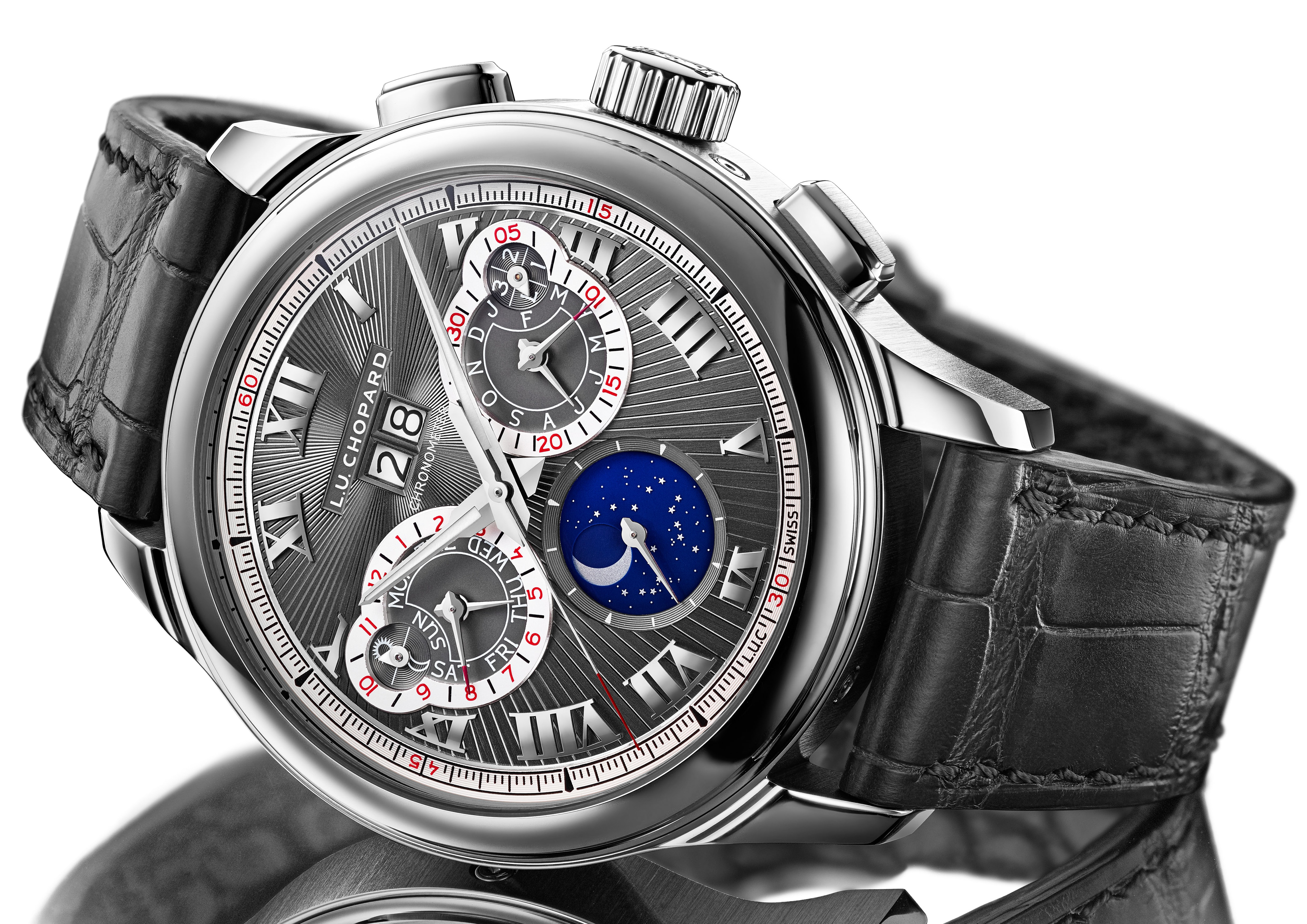 chopard luc perpetual chrono dial Introducing: The Chopard L.U.C. Perpetual Chrono Introducing: The Chopard L.U.C. Perpetual Chrono L