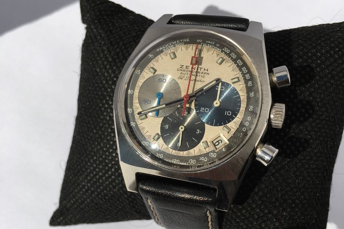 Zenith El Primero Reference A3817 Bring a Loupe: A Rolex With Tiffany Dial, A B-Series Royal Oak With Original Papers, An Early Zenith El Primero, And Many Others Bring a Loupe: A Rolex With Tiffany Dial, A B-Series Royal Oak With Original Papers, An Early Zenith El Primero, And Many Others 33333