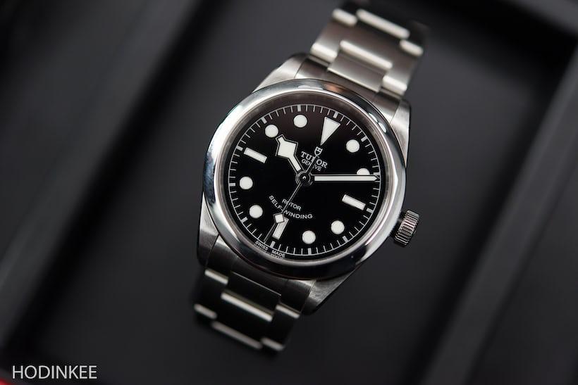 Hands on the tudor heritage black bay 36 live pics - Tudor dive watch price ...