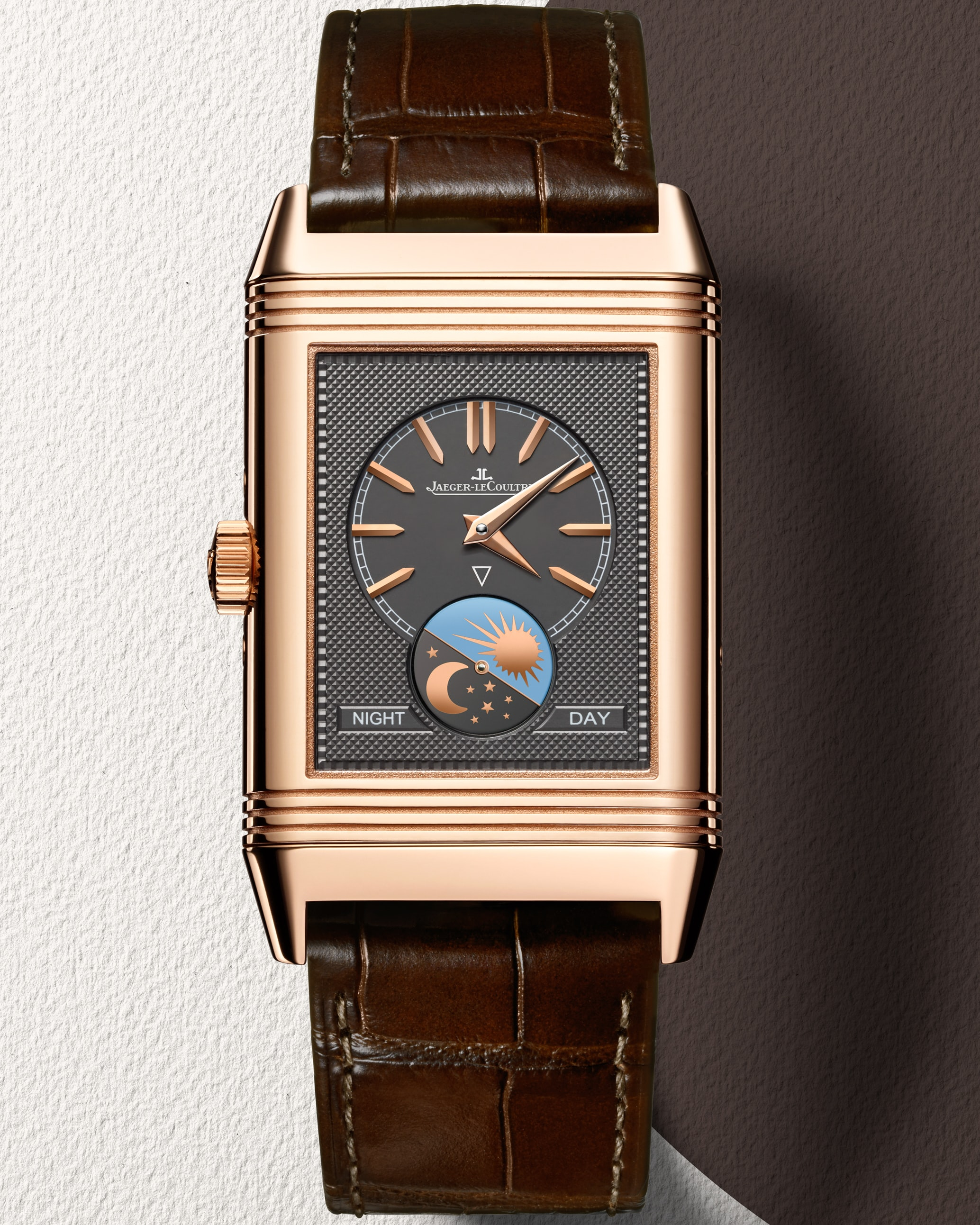 Announcing The Sixth Annual Madison Avenue Watch Week Announcing The Sixth Annual Madison Avenue Watch Week Jaeger LeCoultre Reverso Tribute Calendar back BG