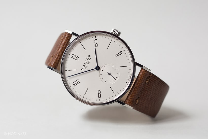 NOMOS Glashütte Tangente, one of the first watches made by NOMOS Inside The Manufacture: A Visit To NOMOS Glashütte, From Design To Production (VIDEO) Inside The Manufacture: A Visit To NOMOS Glashütte, From Design To Production (VIDEO) Nomos Tangente 03