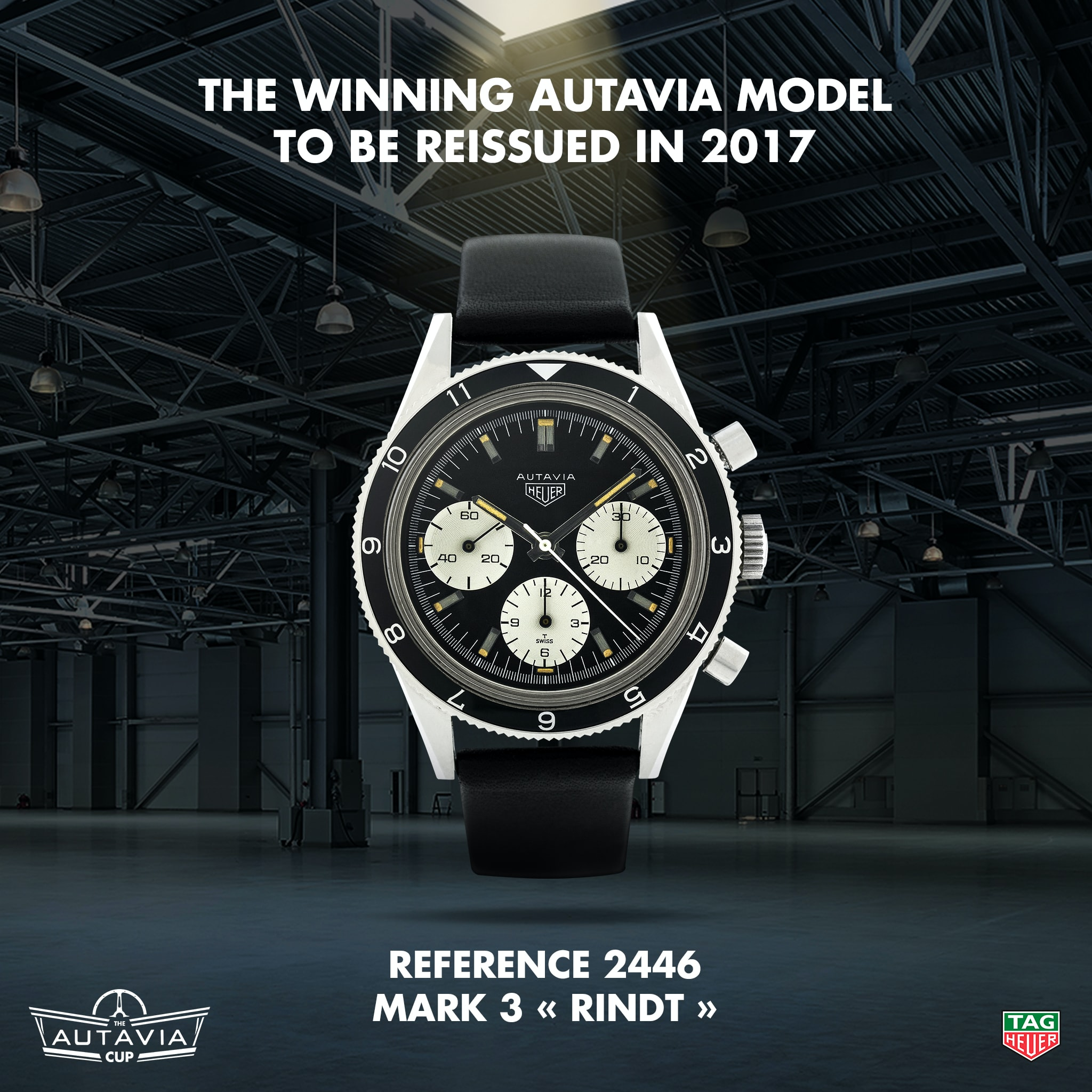 Breaking News: Announcing The Winner Of The TAG Heuer Autavia Cup, A Vintage Watch To Be Re-Made In 2017 Breaking News: Announcing The Winner Of The TAG Heuer Autavia Cup, A Vintage Watch To Be Re-Made In 2017 Autavia Cup Winner The Rindt Ref 2446 Mark 3 HD
