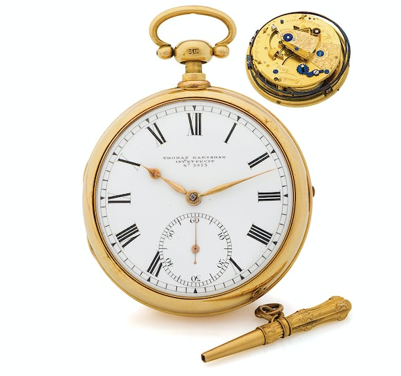 Earnshaw Pocket Chronometer Quarter Repeater Seven Pocket Watches That Will Make You Forget Wristwatches (And Wonder Why They've Gotten So Pricey) From The Antiquorum 'Important Modern & Vintage Timepieces' Auction Seven Pocket Watches That Will Make You Forget Wristwatches (And Wonder Why They've Gotten So Pricey) From The Antiquorum 'Important Modern & Vintage Timepieces' Auction ta