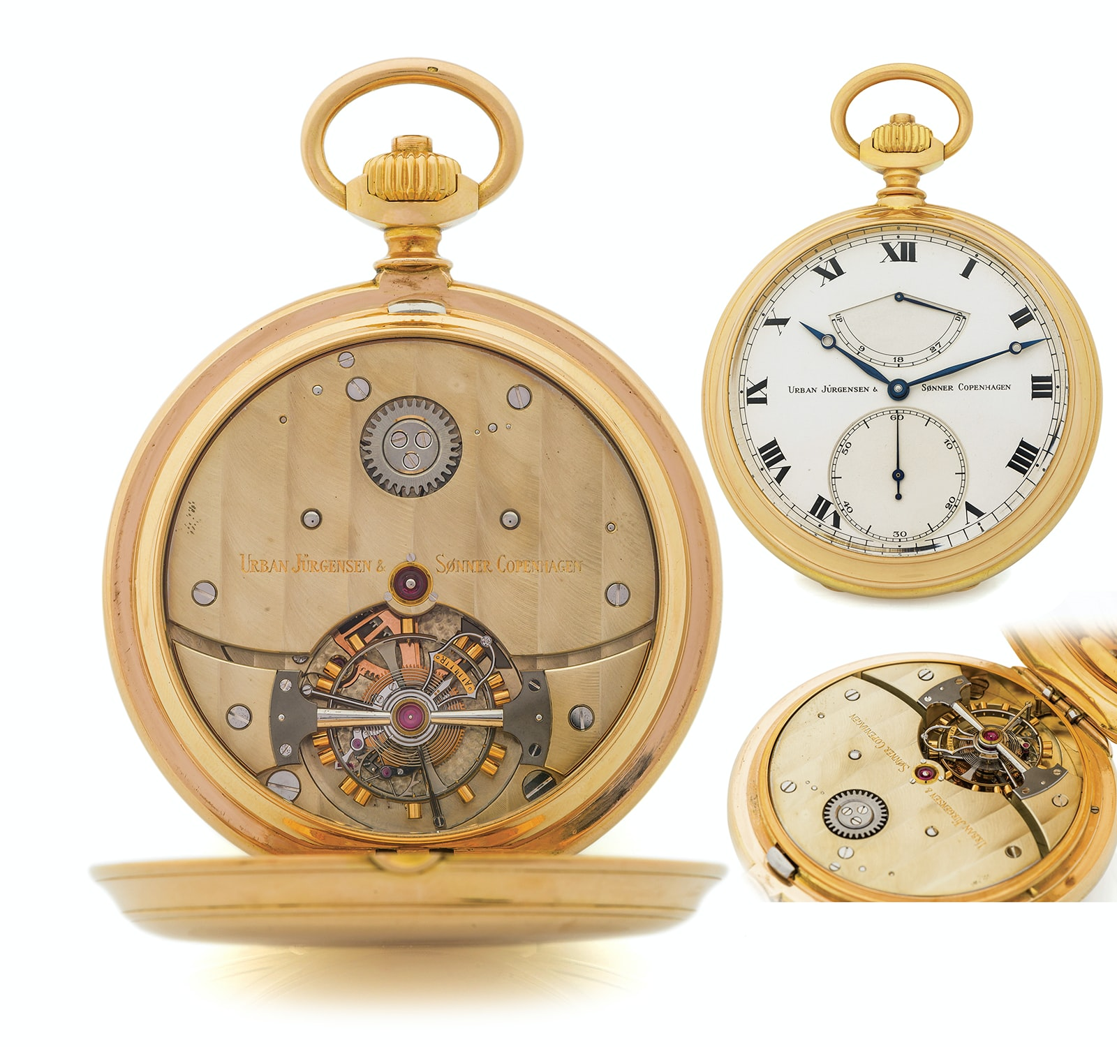 Derek Pratt Tourbillon Seven Pocket Watches That Will Make You Forget Wristwatches (And Wonder Why They've Gotten So Pricey) From The Antiquorum 'Important Modern & Vintage Timepieces' Auction Seven Pocket Watches That Will Make You Forget Wristwatches (And Wonder Why They've Gotten So Pricey) From The Antiquorum 'Important Modern & Vintage Timepieces' Auction f2