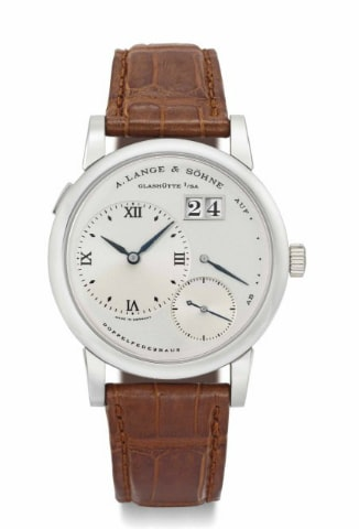 The last steel Lange 1 to sell at Christie's in 2013 brought $154,000. Breaking News: Christie's To Offer Mega Rare Steel Lange 1 With Black Dial In June (Live Pics, Estimates) Breaking News: Christie's To Offer Mega Rare Steel Lange 1 With Black Dial In June (Live Pics, Estimates) a copy