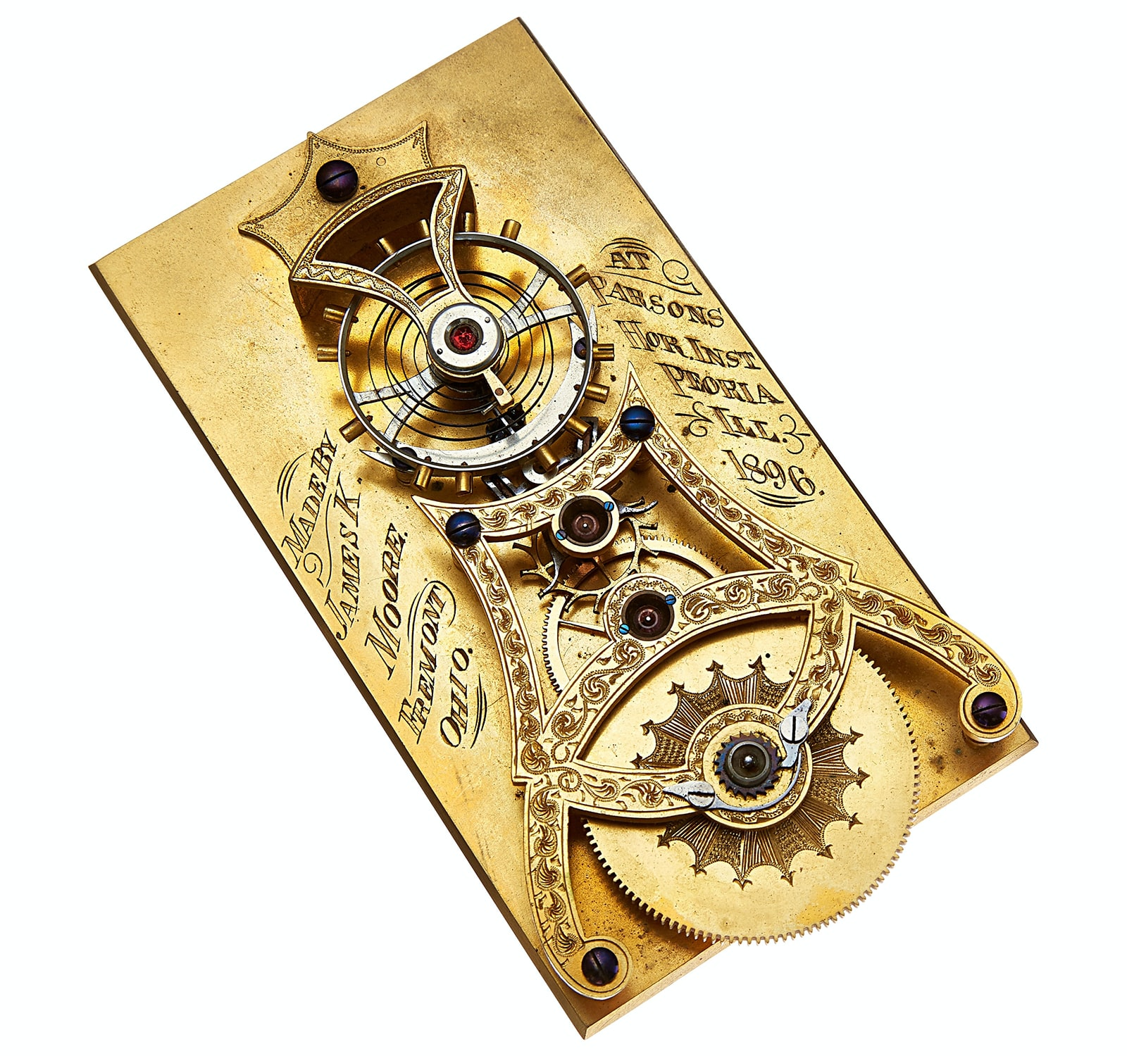 Albert Meyer Spring Detent Chronometer Escapement Model Found: A Captivating Collection Of Escapement Models At Heritage Auction's May 26th Sale Found: A Captivating Collection Of Escapement Models At Heritage Auction's May 26th Sale a 2